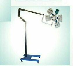 Surgical Ot Light Mobile 4 Reflector 145k Lux With Attached Panel And Remote 98led