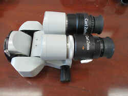 Zeiss Opmi Surgical Microscope 0-180 Binocular F=170 10x/22b View Pictures