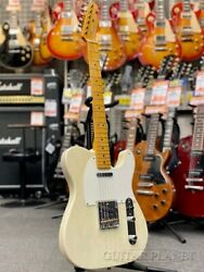 Fender American Vintage '52 Telecaster Thin Lacquer White Blonde 2005 Guitar