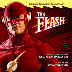 Supersonic Hero The Flash Limited Sold Out Set Of Danny Elfman Shirley Walker