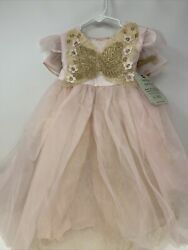 Pottery Barn Kids Pink Butterfly Fairy Costume New With Tags 12-24 Months Pb4