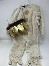 Pottery Barn Kids Where The Wild Things Are Max Halloween Costume 2t New Pb4