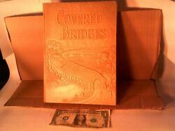 First edition Autographed book Covered Bridges On The Byways Of Indiana 1949