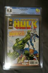 Incredible Hulk 449 Cgc 9.8 Wp - 1st Appearance Of The Thunderbolts Mcu Show