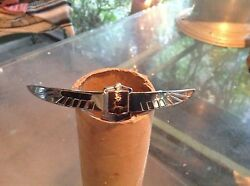 1939 Lasalle Grille Emblem Re Chromed Wings With Repainted Crest Rare