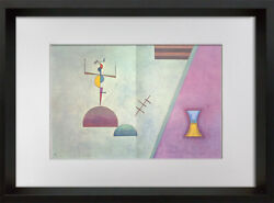Wassily Kandinsky Lithograph Limited Edition Sign 1965 W/frame Included