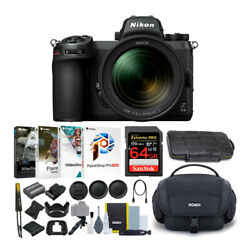 Nikon Z6ii Mirrorless With 24-70mm 64gb Card Software And Accessory Bundle