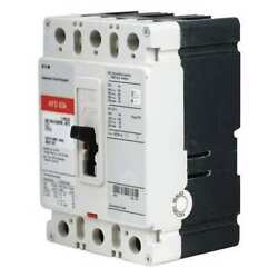 Eaton Hfd3080 Molded Case Circuit Breaker 80 A 600v Ac 3 Pole Free Standing