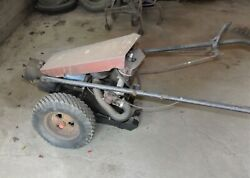 Vintage Gravley Walk Behind Tractor Model L For Parts Or Repair, Turns Over