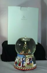 Partylite Christmas Morning Holiday Tealight Globe P7655 2002 Edition W/ Box