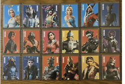 Panini Fortnite Series 2 Complete 250 Card Set- Ultima Knight Ice King Queen