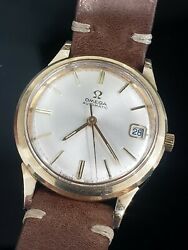 Vintage Omega Automatic Cal. 563 Ref Km 6312 10kgf Mens Date Watch