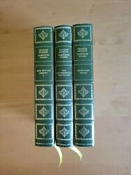 Franklin Library Charles Dickens Lot Of Three Books Centennial Edition