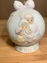 Precious Moments Peace On Earth Special Edition 1989 Ornament