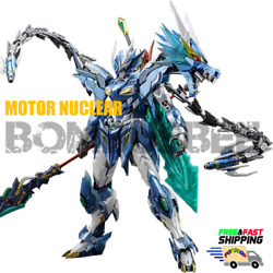 【in Stock】motor Nuclear Mn-q03 1/72 Ao Bing Blue Dragon Action Figure Robot Pvc