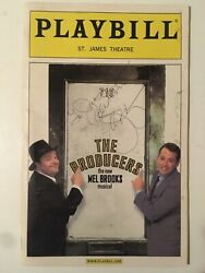 The Producers Playbill - Signed By Matthew Broderick