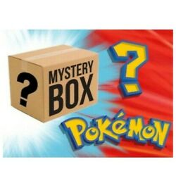 1,000 Pokemon Card Mystery Box Booster Packs/boxes, Psa, Raw Cards