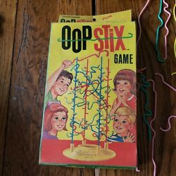 Vintage Oop Stix Game 1965 Rare Game By Transogram Toys And Games Complete W Box