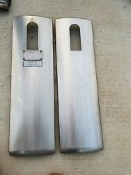 Wayne Mobil Stainless Gas Pump Lower Stainless Side Panels