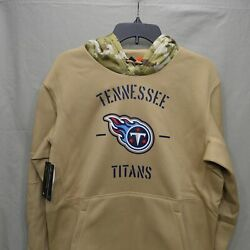 Nike Nfl Salute To Service Hoodie-tennessee Titans