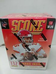2021 Panini Score Nfl Football Trading Cards 1 Blaster Box New And Sealed 132 Card