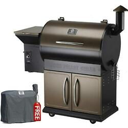 Z Grills Wood Pellet Grill Smoker 8 In 1 Bbq Free Cover Upgrade Zpg-700d