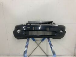 2007- 2010 Mini Cooper S R56 Front Bumper Cover Black With Fog Lights And Grille