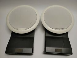 Bose Virtually Invisible 191 In Wall In Ceiling Speakers 1 Pair Used Tested