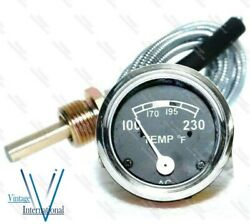 Temperature Gauge For Ford 2n 8n 9n Naa 601 70 801 901 2000 4000 Tractor New