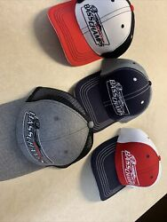 Skeeter Boats Usa Mesh Hat Cap Bass Champs Lucky Fishing Hat Lot Of 4