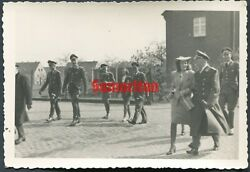 E8/6 Ww2 Original Photo Of German Luftwaffe Wehrmacht Officers With Daggers