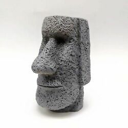 3d Statue Face Silicone Mould Easter Island Stone Diy Soap Candle Mold Reusable