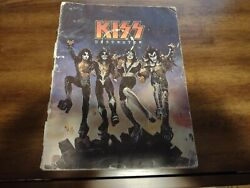 Kiss 1976 Destroyer Music And Lyrics - Almo Publications