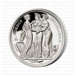 2021 St Helena The Three Graces Silver Proof Five Ounce 5oz - Only 300 Minted