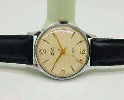 Vintage Smiths Astral Silver Dial Manual Wind Man's Watch