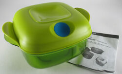 Tupperware Heat N Serve - 5 Cup - Chartreuse - 6166 - Nos