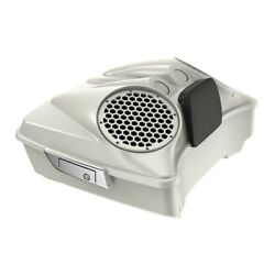 Bonneville Salt Pearl 8and039and039 Speaker Lids Fits Advanblack/harley Chopped Tour Pack