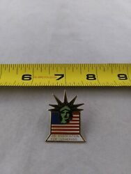 Vintage Aid Association For Lutherans Liberty Button Pinback Pin Qq56-2