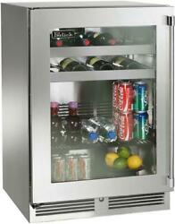 Perlick Signature Series Hp24bs33l 24 Inch Built-in Undercounter Beverage Center