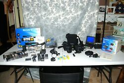 Sony Dcr-vx2000 Camcorder Sony Video Walkman Gv-d900 And Much More