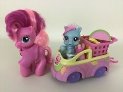 My Little Pony Shopping Day With Mom Grocery Cart Car Vehicle Baby Hasbro Toy