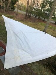Dacron Furling Jib Sail W/suncover And Bag From Candc 35 Mkiii
