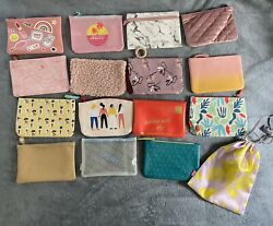 Ipsy Makeup Cosmetic Bags EMPTY Lot of 16 $15.00