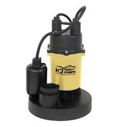 1/3 Hp Sump Pump With Direct-in Tethered Switch