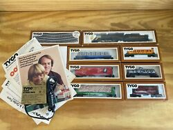 Vintage 1979 Tyco Clementine 0-8-0 Ho Train Set 7333 In Running Condition