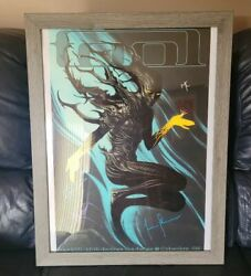 Rare 2018 Tool Band Columbus, Oh Concert Poster Frame Included-free Shipping