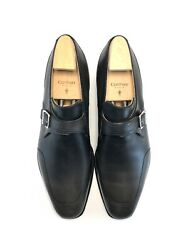 Corthay Monk Strap Leather Dress Shoes