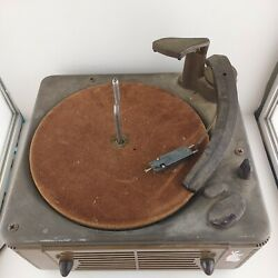 Vintage Webster Chicago 160 - Turntable Phonograph Record Changer Player Parts