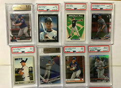 High End Psa 10 Pete Alonso/tatis/guerrero/yelich/jeter 22 Card Rookie Lot