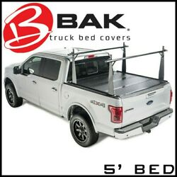Bak Industries Tonneau Bed Cover/truck Bed Rack Fits 2005-2015 Toyota Tacoma 5'